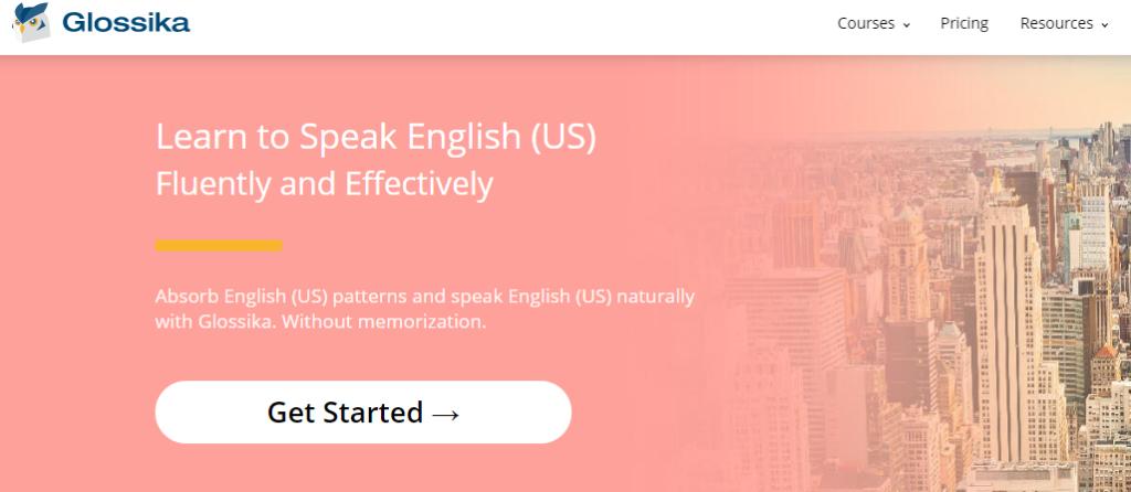 เรียนภาษาอังกฤษออนไลน์ดีไหม, Glossika, เรียนภาษาอังกฤษที่ไหนดี