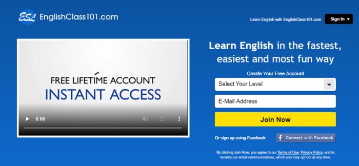เรียนภาษาอังกฤษออนไลน์ดีไหม, EnglishClass101, เรียนภาษาอังกฤษที่ไหนดี