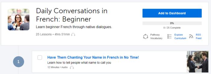 คอร์สเรียนภาษาฝรั่งเศส ออนไลน์