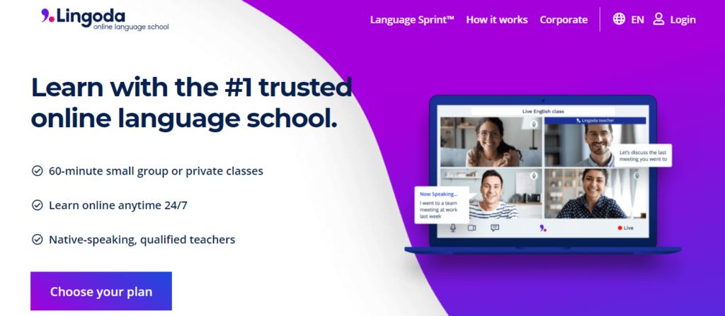 เรียนภาษาออนไลน์ Lingoda