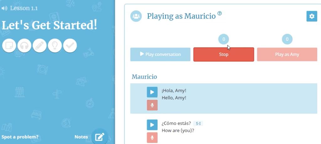 คอร์สเรียนภาษาสเปน Rocket Languages